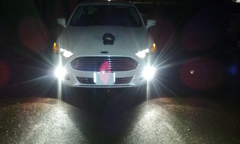 2013 2014 2015 2016 Ford Fusion Angel Eye Halo Fog Lamps Lights