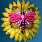 #CLIP-91: DragonFly Butterfly Flower Hair Clothing Accessories Clip, Pin and Ponytail Holder