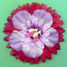 #CLIP-128: Embroidered High Heels Flower Hair Clothing Accessory Clip, Pin and Ponytail Holder