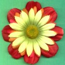 #CLIP-68: Fun Springtime Flower Hair Clothing Accessories Clip, Pin and Ponytail Holder