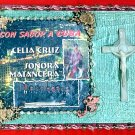 #WALLPLAQUE-07: Hand decorated In Loving Memory of Celia Cruz Wall Plaque