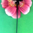 #HAIRSTK-11: Butterfly Fashion Flower Hair Accessory Flower Hair Stick or Pin