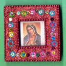 #MGPLAQUE-02: Magnetic Virgen of Guadalupe Picture Frame Print