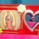 #WALLPLAQUE-23: Hand decorated Virgen of Guadalupe Wall Plaque