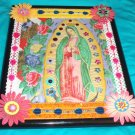 Folkart-11: Novelty virgin mary guadalupe Picture Wall Art