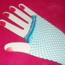 lglove-10: Hand decorated colorful fishnet gloves