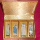 njewelrybox-01: Novelty Virgin Mary Guadalupe Gold Satin Vintage Jewelry Carry Case Box