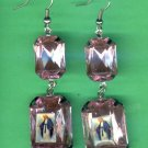 #EARVM-14: Jumbo Gem Virgin Mary Guadalupe Earrings