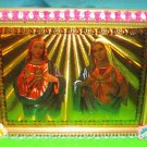 Folkart-23: Novelty Sacred Heart of Jesus & Mary Picture Wall Art