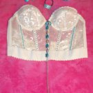 Beautiful Bead Stone Bustier Fashion Top
