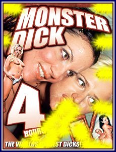 MONSTER DICK -- 4 HR ADULT MOVIE