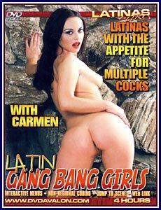 LATIN GANG BANG GIRLS -- 4 HR ADULT MOVIE