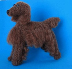 1 Crocheted Irish Setter Pattern