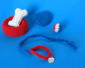1 Crocheted Accessory Pack Pattern