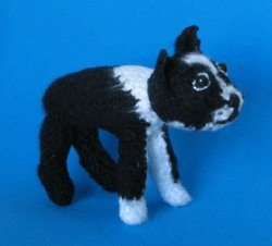1 Crocheted Boston Terrier Pattern