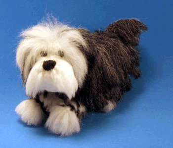 1 Crocheted Old English Sheep Dog Pattern