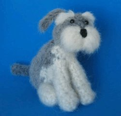 1 Crocheted Schnauzer Pattern