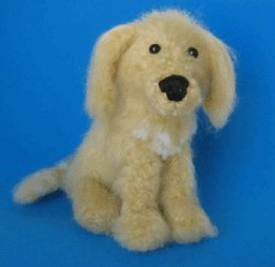 1 Crocheted Golden Retriever Pattern