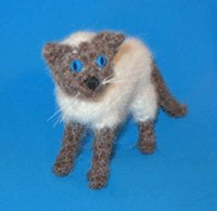 1 Crocheted Siamese Cat Pattern