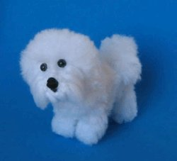 1 Crocheted Bichon Frise Pattern