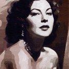 Ava Gardner Poster Art Print size 8x10