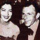 Ava_Gardner_Frank_Sinatra Poster Art Print