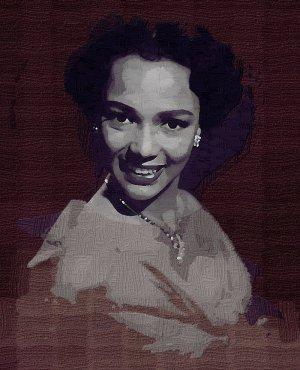 Dorothy Dandridge2 Poster Art Print size 8x10