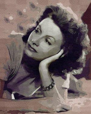 Greta_Garbo Poster Art Print size 8x10