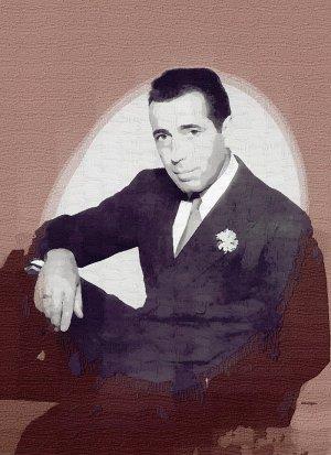 Humphrey_Bogart Poster Art Print size 8x10
