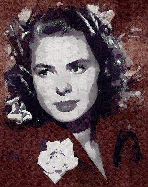 Ingrid_Bergman Poster Art Print size 8x10
