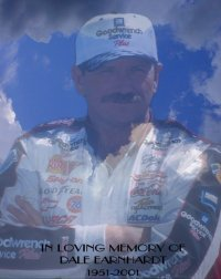 Dale Earnhardt Poster Art Print size 8x10