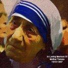 Mother_Teresa Poster Art Print size 8x10