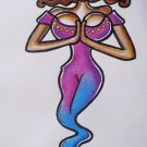 Tittle ~ Genie Jenna ~ Original Art drawing By Sylvia Lizaraga