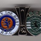 UEFA Cup Semi Final 2008 v Fiorentina Pin Badge