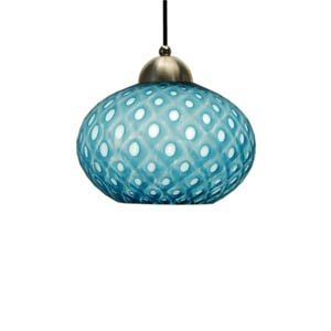 Aptos Mini-Pendant Light - Aqua