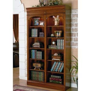 Cotswold Cherry Bookcase with Lighting