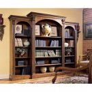 Gorgeous Triple Bookcase Library Wall