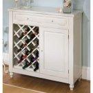 Raised Panel Wine Cabinet
