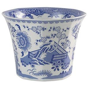Spode Blue & White Cachepot