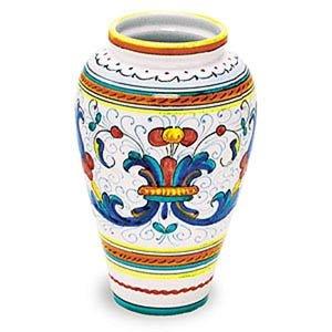 Miele Deruta Ricco Vase