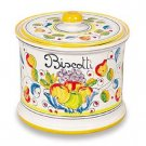 Miele Deruta Biscotti Jar