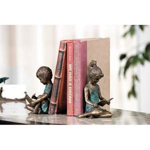 Boy & Girl Bookends