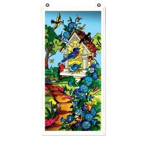 Birdhouse Art Panel