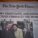 New York Times January 21, 2009 Barack Obama Inaugural Edition