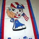 PUERTO RICAN GIRL TOWEL
