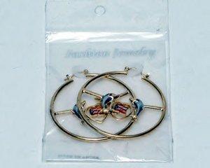 puerto rican dolphins earrings
