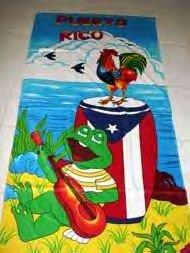 puerto rico coqui towel
