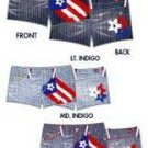 puerto rican flag jeans