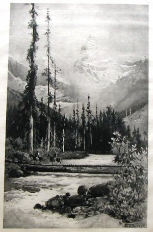 1888 Photogravure on Satin Picturesque California Muir A Fraser