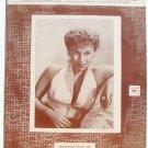 Tweedlee Dee Vintage Sheet Music Georgia Gibbs 1954